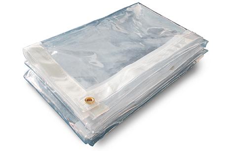 Clear tarps